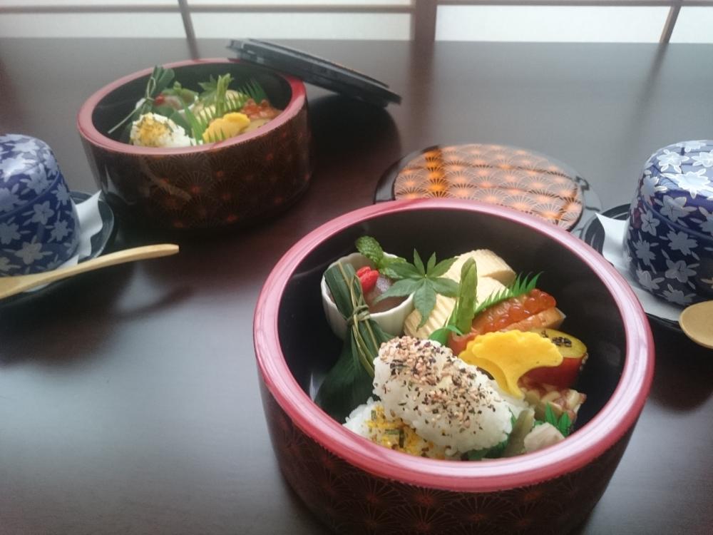 『 めばえ茶ゎん セット 』 1500円(税・サ 別)
